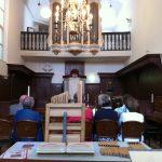 Het orgel in de kerk